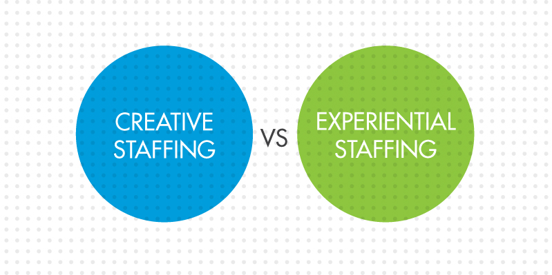creative staffing vs experiential staffing